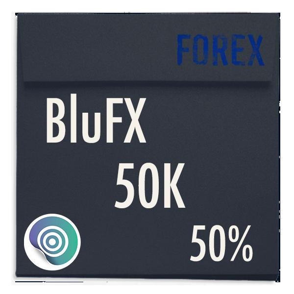 funded-trader BluFX evaluation funding program trading 50K 50pc