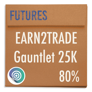 funded-trader Earn2Trade evaluation funding program trading gauntlet 25K 80pc