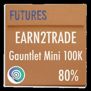 funded-trader Earn2Trade evaluation funding program trading gauntlet mini 100K 80pc