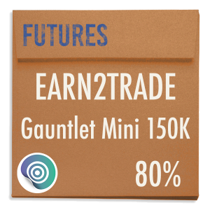 funded-trader Earn2Trade evaluation funding program trading gauntlet mini 150K 80pc