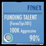 funded-trader FUNDINGTALENT evaluation funding program trading 100K aggressive 90pc copy