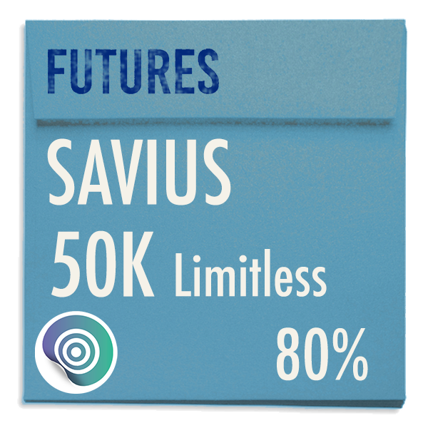 funded-trader SAVIUS evaluation funding program trading 50K Limitless 80pc copy