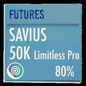 funded-trader SAVIUS evaluation funding program trading 50K Limitless Pro 80pc copy