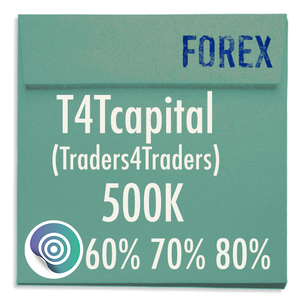 funded-trader T4Tcapital Traders4traders evaluation funding program trading 500K 60pc 70pc 80pc copy