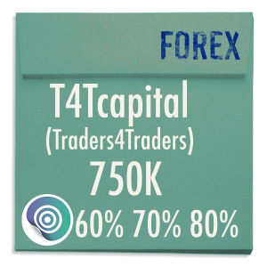 funded-trader T4Tcapital Traders4traders evaluation funding program trading 750K 60pc 70pc 80pc copy