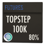 funded-trader TOPSTEP evaluation funding program trading futures 100K 80pc copy