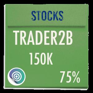 funded-trader TRADER2B evaluation funding program trading stocks 150K 75pc copy